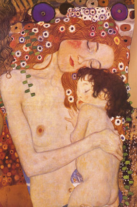 klimt-gustav-mother-and-child-9901075