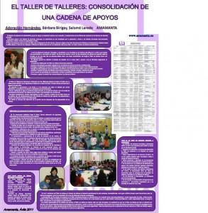 El taller de talleres: consolidación de una cadena de apoyos