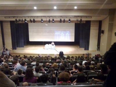 Conferencia de Carlos Gonzalez en el Auditori Moli de Vila