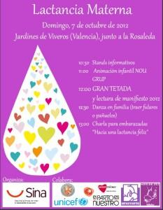 Cartel anunciador de la Fiesta en Viveros