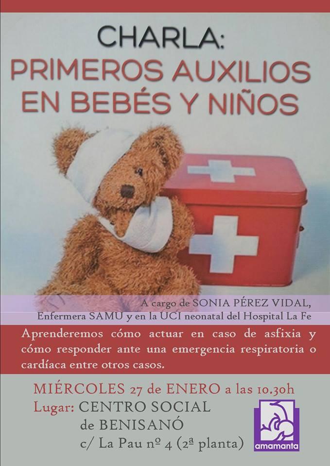 benisano primeros auxilios