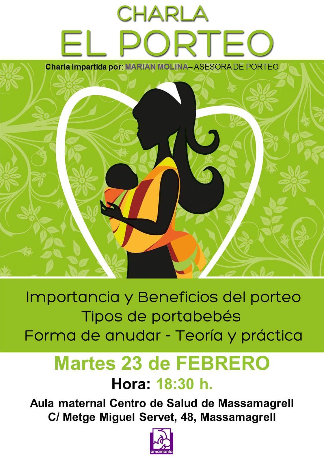 CHARLA PORTEO Massamagrell Marian Molina