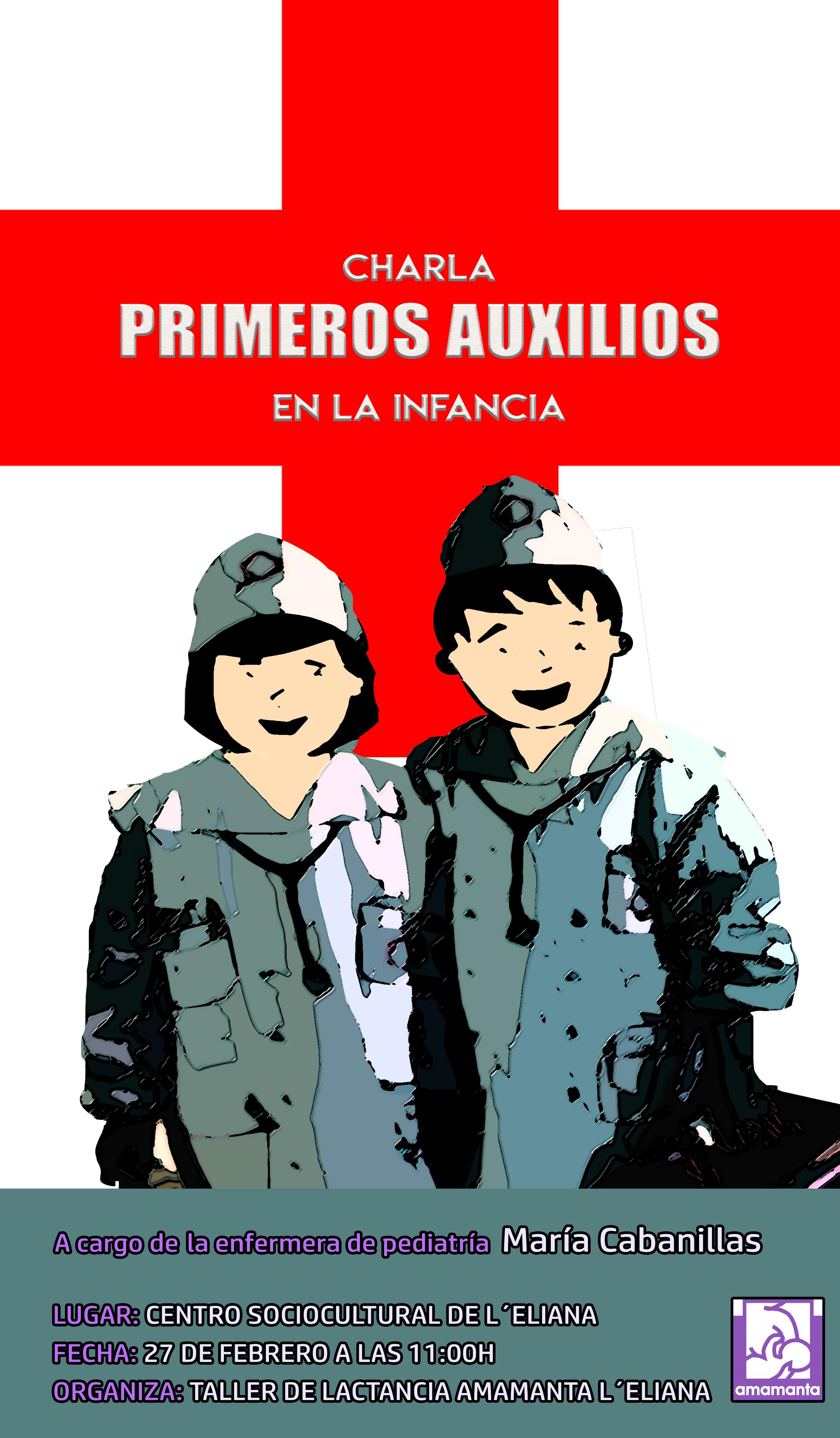 CHARLA PRIMEROS AUXILIOS INFANCIA