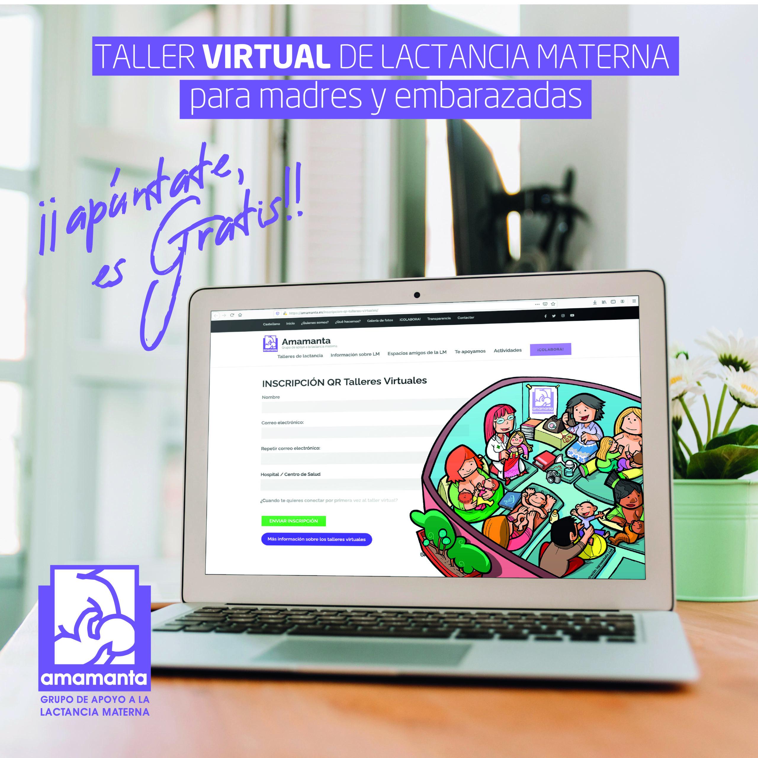 Amamanta 2.0: Apoyo virtual a la lactancia materna